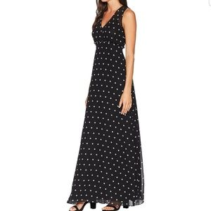 Juicy Couture polka dot maxi dress size 4